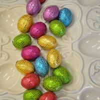 Foil Eggs, Milk Chocolate With Crisped Rice