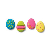 Easter Egg Assortment Crème Filled Sandwich Cookies, Milk Chocolate (Blue, Green, Pink, Yellow)