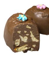 Pretzel Twist Egg, Milk Chocolate