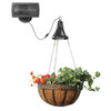 Hanging Basket with Solar Panel GS-6