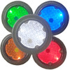 "4"" Circle Solar LED Paver Light SL6R Color Options"