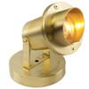 12V Submersible Brass Underwater Pond Lighting w/ Angle Shield - PU916