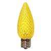 C9 LED Light Bulb in yellow