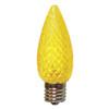 C9 LED Light Bulb in yellow