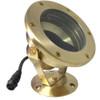 12V Large Cast Brass Adjustable Submersible LED Pond Light w/ NSC - LEDUX-L-003