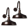 2 Pack, Earth Bronze Finish