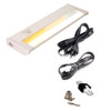 DIY 3-in-1 Dimmable Under Cabinet LED Kitchen Lighting - 120V LED Light Bar - AQAUC-DIY