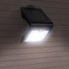 Solar Powered Integrated LED Security Floodlight Black Finish