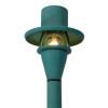 Brass Tilt-top Area Light Under Hood (shown in verde)
