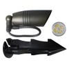 12V LED Outdoor Heavy Cast Brass Up Light Fixture, Bulb Included, Bronze Finish, All Accessories Included - PSLT2105-BZ-LED