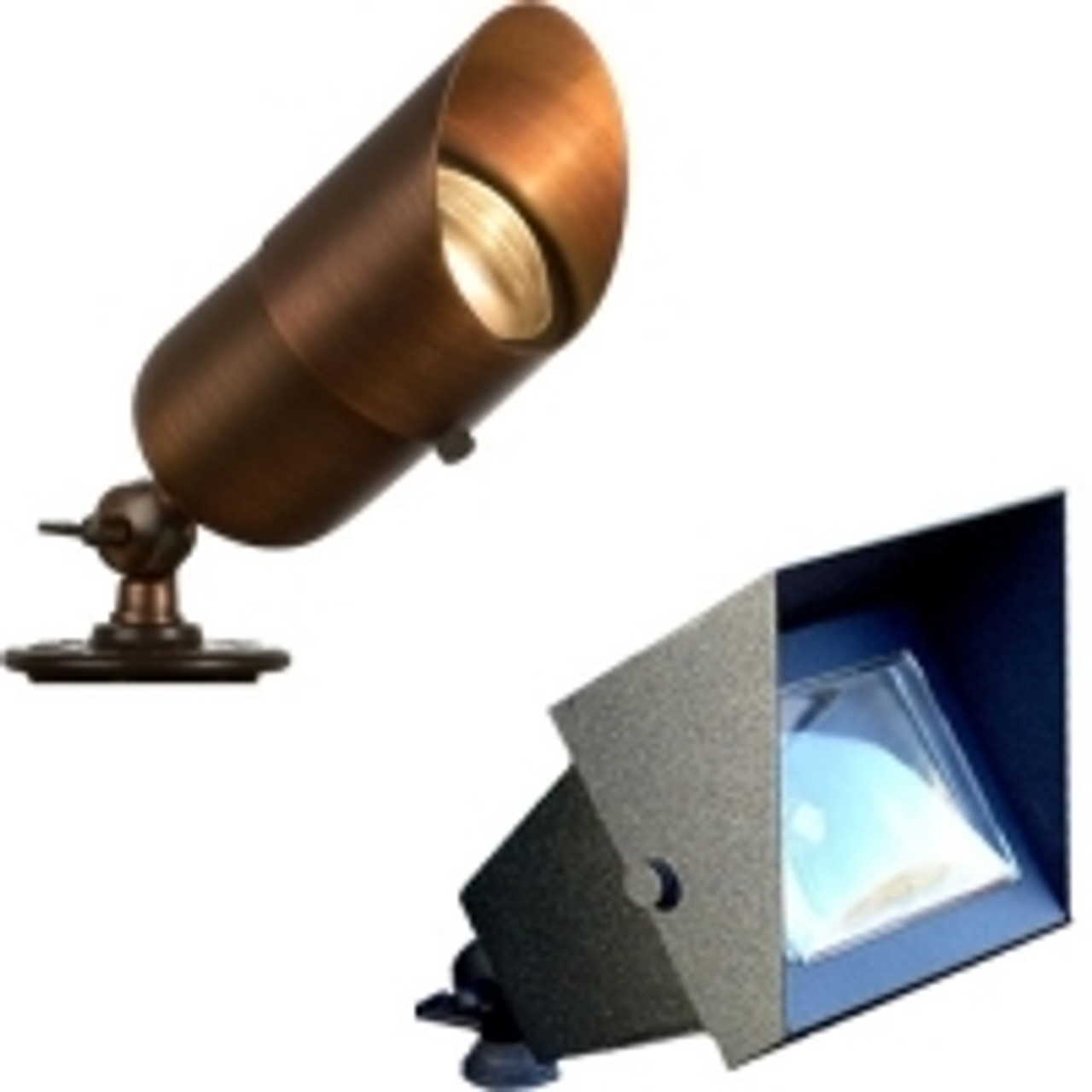 Brass Standard Weight Spot & Flood Lights