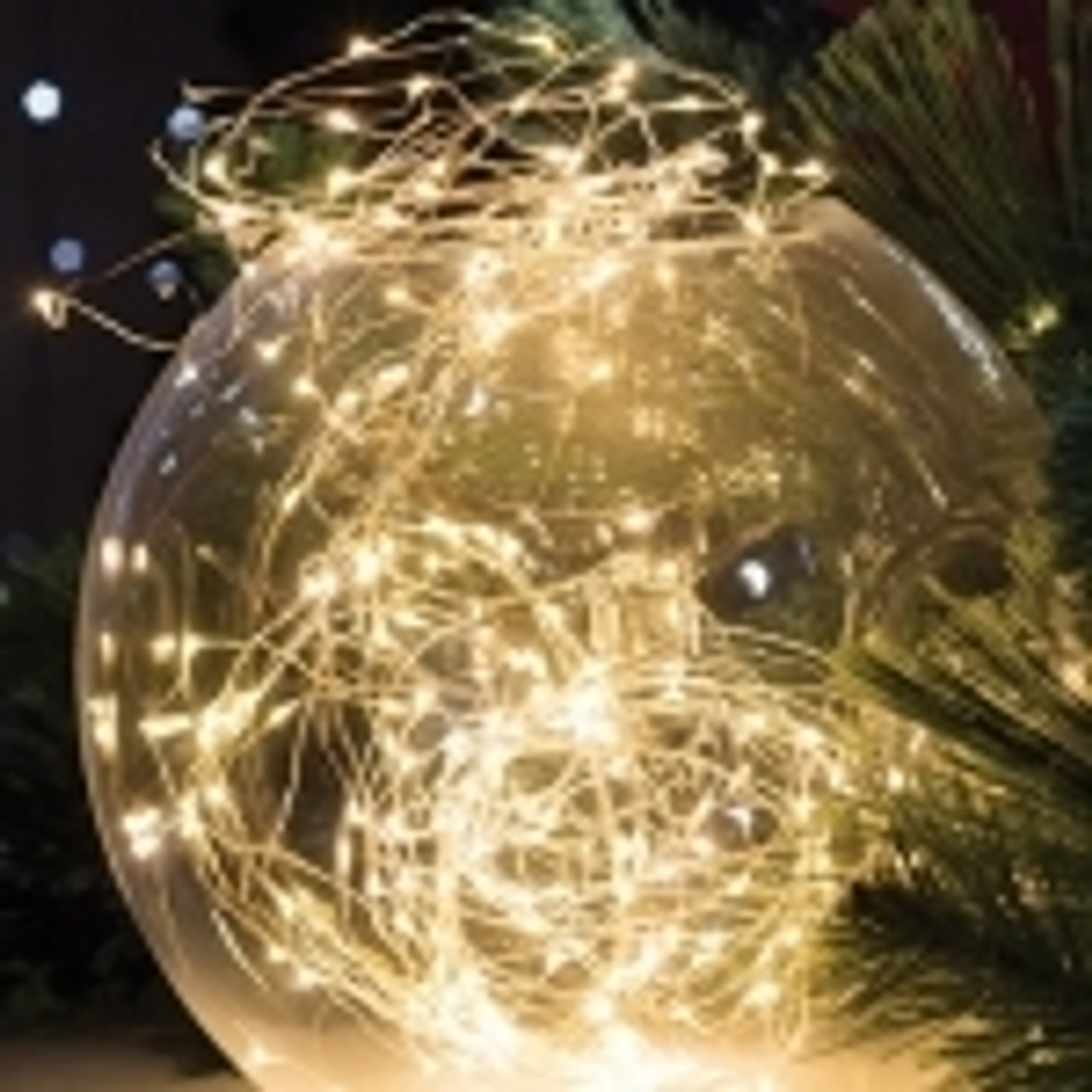 LED Angel Dew Drop String Lights