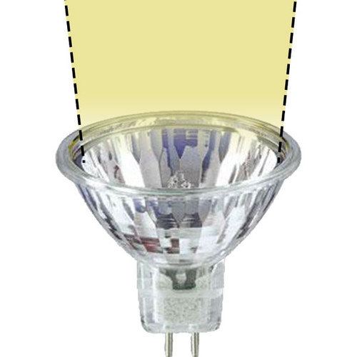 12V 20w Clear Halogen MR16 Spot Light Bulb - 20W-MR16-12V-S