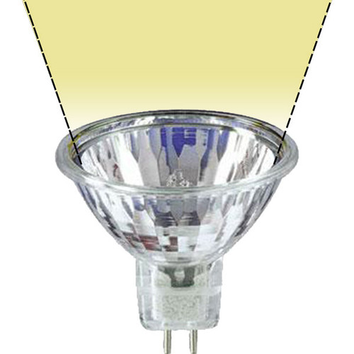 12V 20w Clear Halogen MR16 BAB Flood Light Bulb - 20W-MR16-12V-F-NB