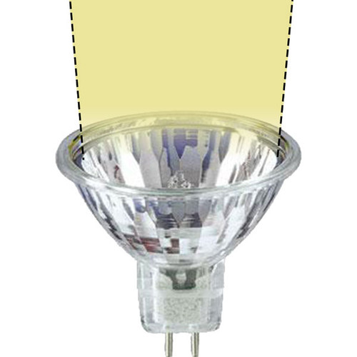 12V 35w Clear Halogen MR16 FRB-S SureColor Tight Spot Light Bulb - 35W-MR16-12V-S-SC