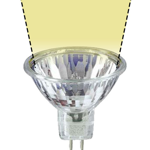 12V 35w Clear Halogen MR16 FMV Spot Light Bulb - 35W-MR16-12V-WS-AQL