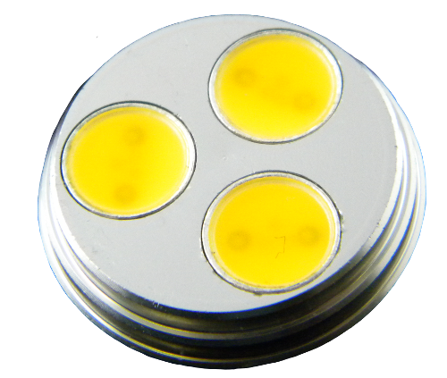 LED Cluster MR8 Retrofit Bulb face