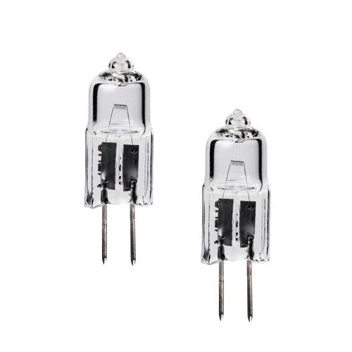 120V 20W HALOGEN JC BI-PIN LIGHT BULB 2x