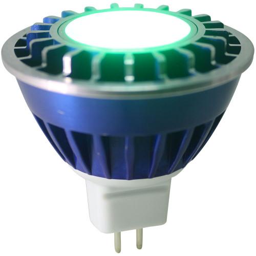 Green Wide Spot LED MR16