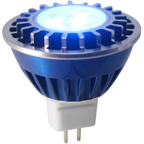 Blue Wide Spot LED MR16