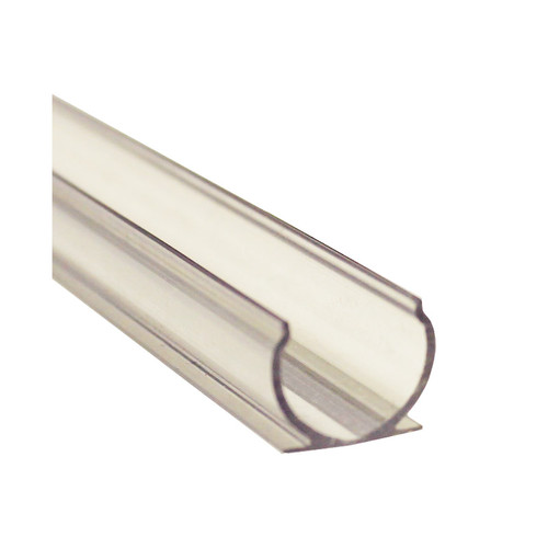 """1/2"""" Rope Light Clear Mounting Channel"""