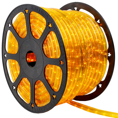 12V 2 Wire Green Incandescent Rope Light Kit - 150 Ft