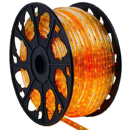 150' Orange 3 Wire Rope Light Spool