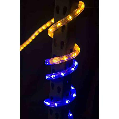 120V LED Type 513 Rope Light Sports Themed Package - Blue / Gold - LED-513-SPRT-BG