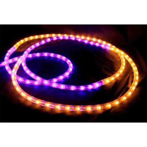 120V LED Type 513 Rope Light Sports Themed Package - Purple / Gold - LED-513-SPRT-PG