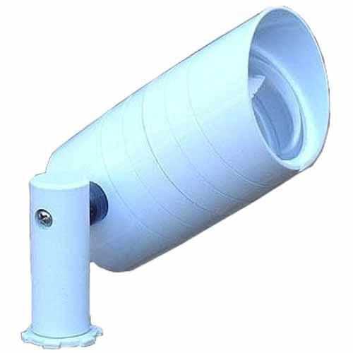 Aluminum Side Arm Spotlight PSDX687 (shown in white)