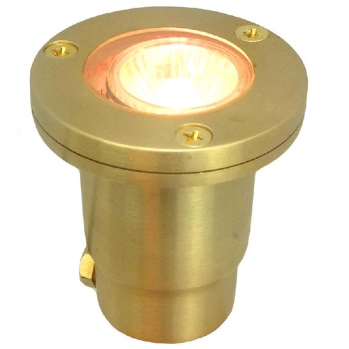Cast Brass In Ground Mini Well Light PGDX707