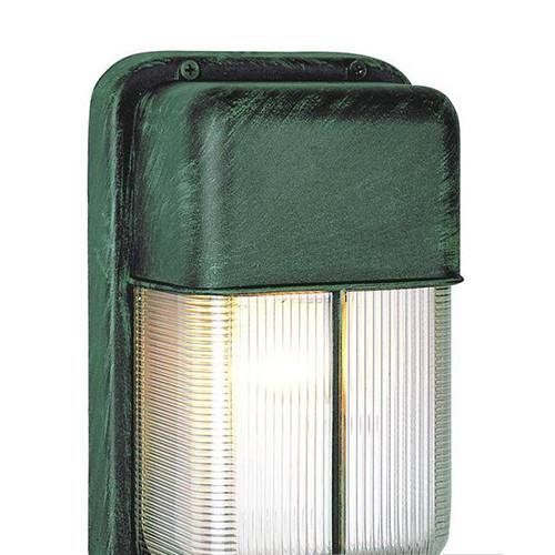 1 Light Outdoor Bulkhead 41103VG Verdi