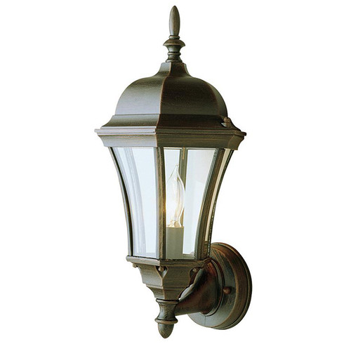 1 Light Outdoor Wall Mount 4502RT Rust