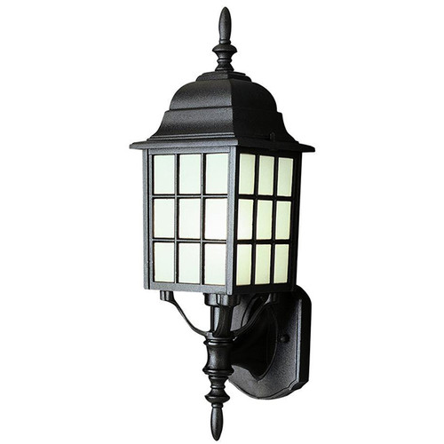 1 Light Outdoor Wall Mount 4420BK Black
