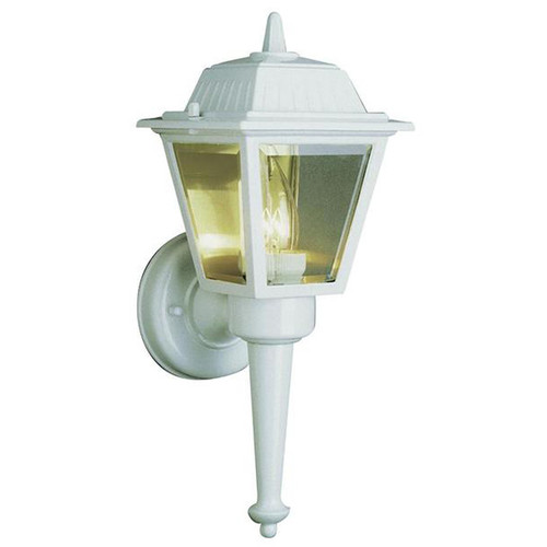 1 Light Outdoor Wall Mount 4055WH White