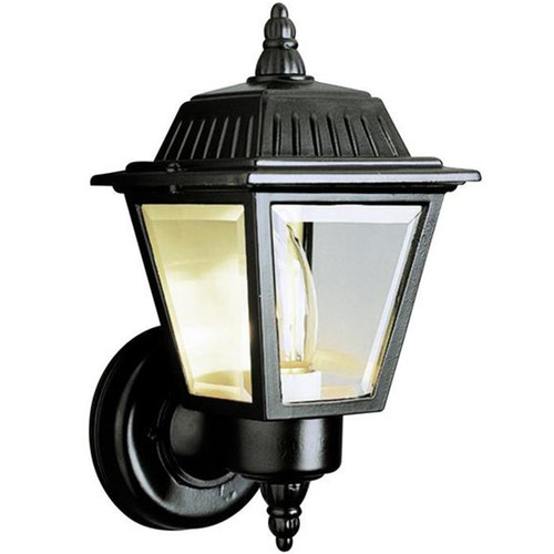 1 Light Outdoor Wall Mount 4006BK Black