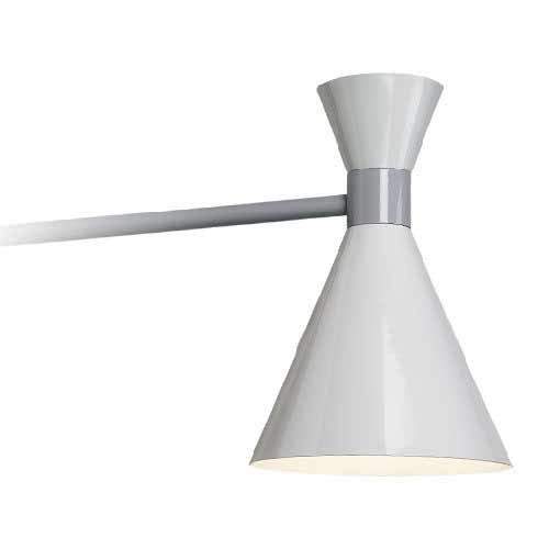 Mid Century Straight Arm Sconce LED Barn Light - TROY-MC - TROYRLM