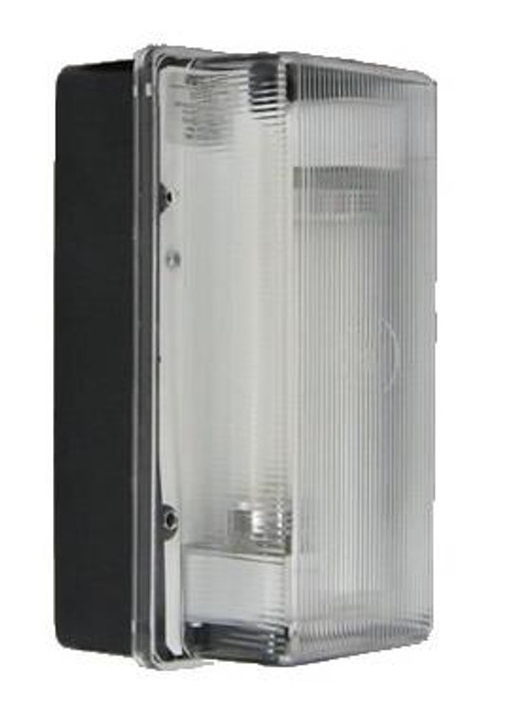 7000 Series Fluorescent LEXAN Front Wall Pack Black