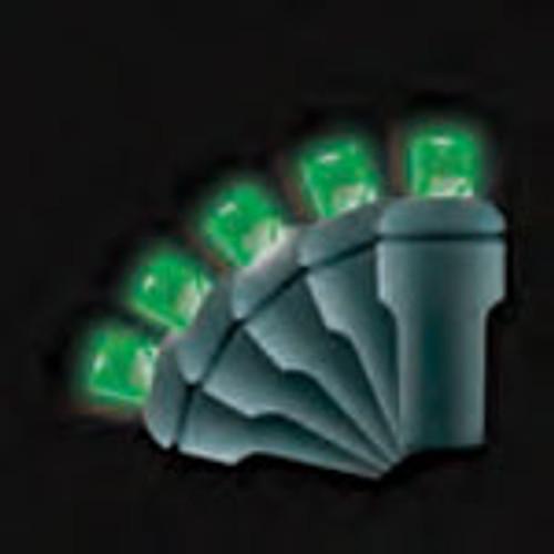 5MM LED Light String shown in Green