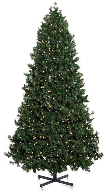 6 1/2' Mountain Pine Pre-Lit LED Christmas Tree
