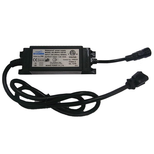 24V Coaxial Indoor/Outdoor IP67 60w Transformer