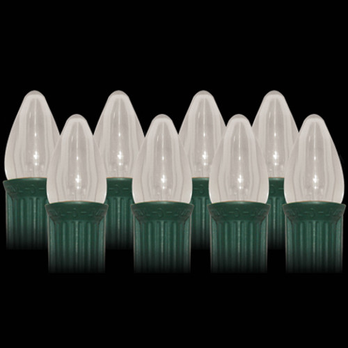 LED Warm White Smooth C7 Light Bulbs (25 count)