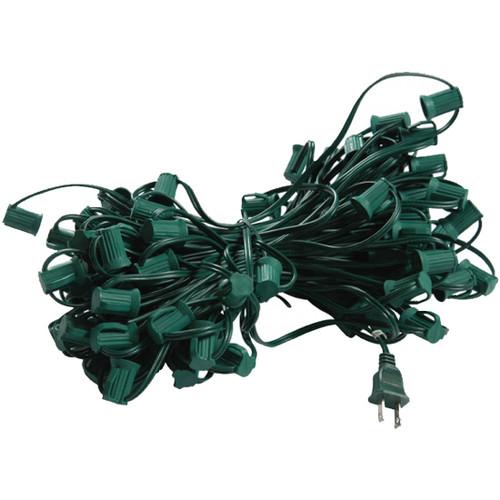 100' C7 Plug In Lighting Strand (shown in green)