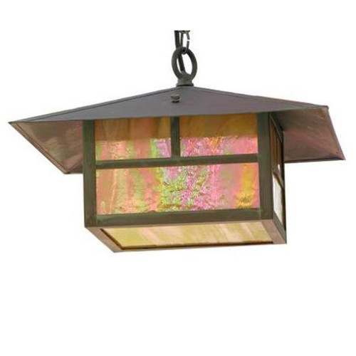 Large Solid Brass Hanging Light SL-12-LG-BRS