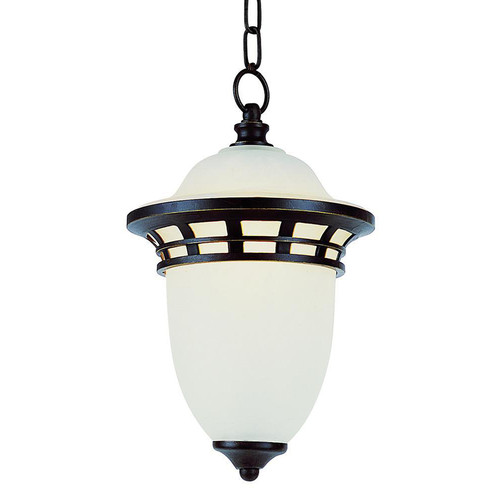 1 Light Bronze Outdoor Hanger Light 5113BZ