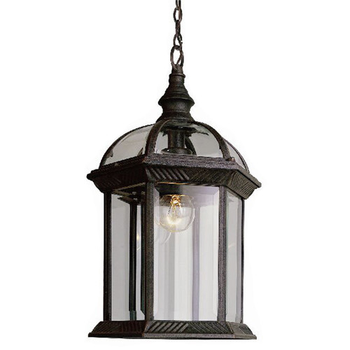 1 Light Outdoor Hanging Pendant 4183 in black gold