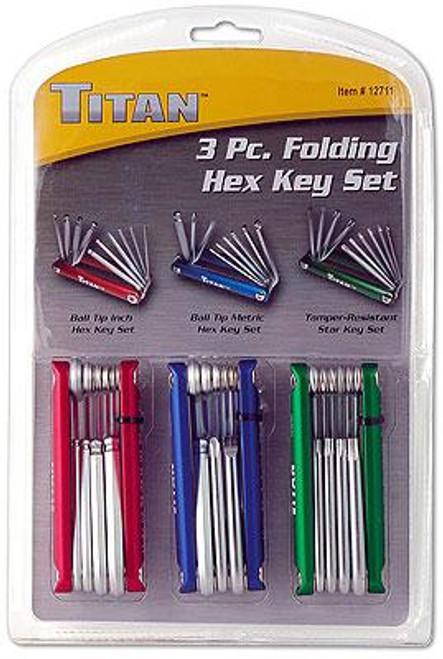 3 Piece Folding Key Set Kit C12711