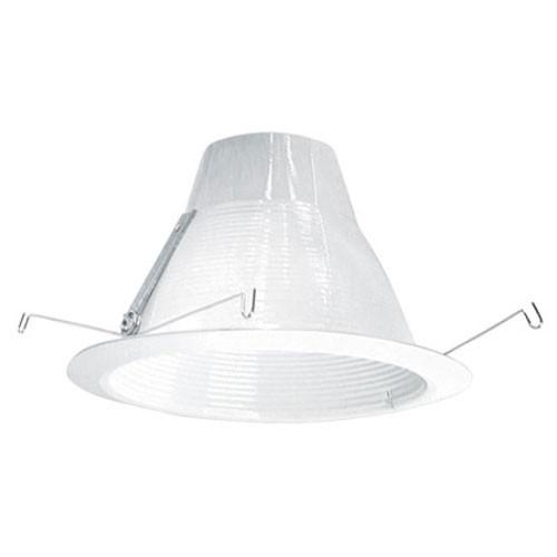 """120v 6"""" AirTight Baffle Recessed Lighting Trim White"""