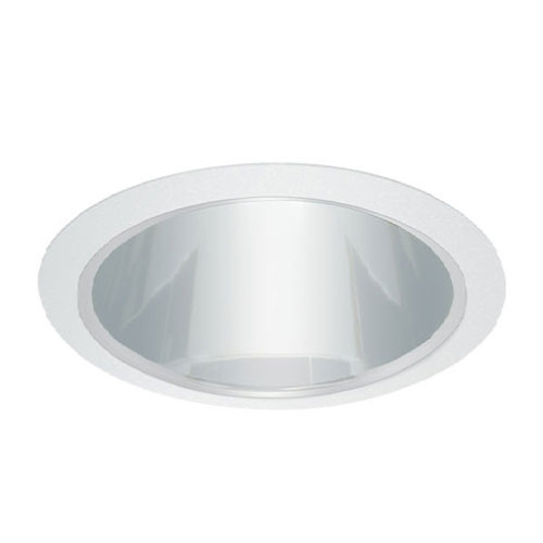 "120v 6"" Par30 Reflector Recessed Lighting Trim Chrome/White"