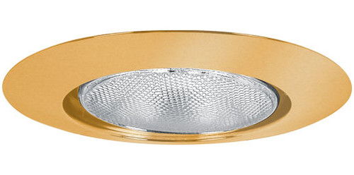 "120v  6"" Open Recessed Lighting Trim Gold"